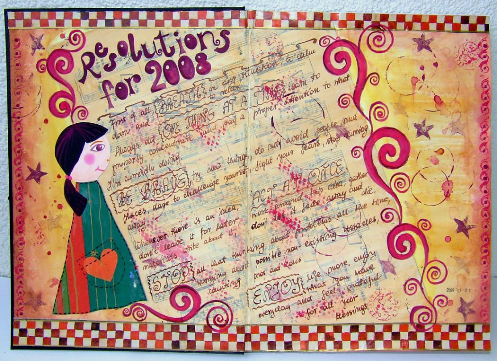 art journal 2008